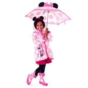 Minnie Mouse Rainwear Collection For Kids