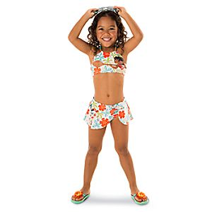 Disney Moana Swim Collection for Girls