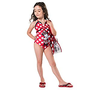 Minnie Mouse Red Swim Collection for Girls