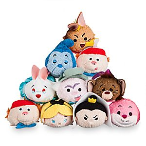 Alice in Wonderland Mini ''Tsum Tsum'' Plush Collection