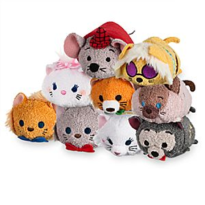 Aristocats Mini ''Tsum Tsum'' Plush Collection