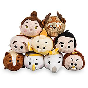 Beauty and the Beast Mini ''Tsum Tsum'' Plush Collection