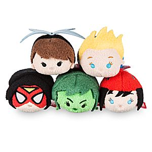 "Marvel's Women of Power Mini ''Tsum Tsum"" Plush Collection"