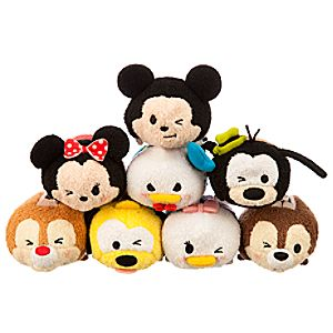 Mickey Mouse and Friends ''Tsum Tsum'' Mini Plush Collection