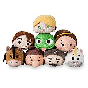 Tangled: The Series Mini ''Tsum Tsum'' Plush Collection