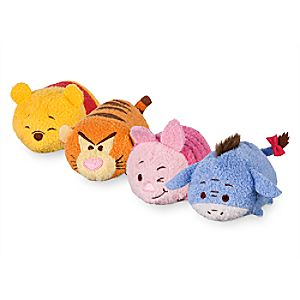 Winnie The Pooh and Friends Mini ''Tsum Tsum'' Plush Collection