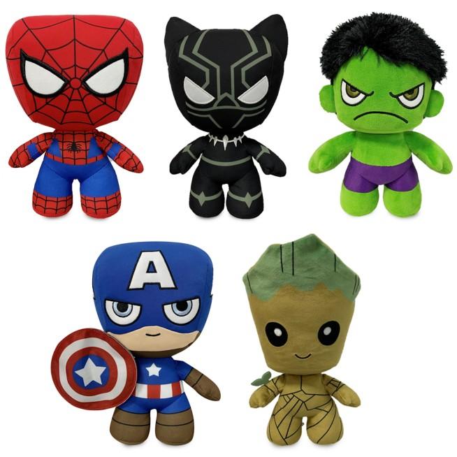 Team Marvel Plush Collection