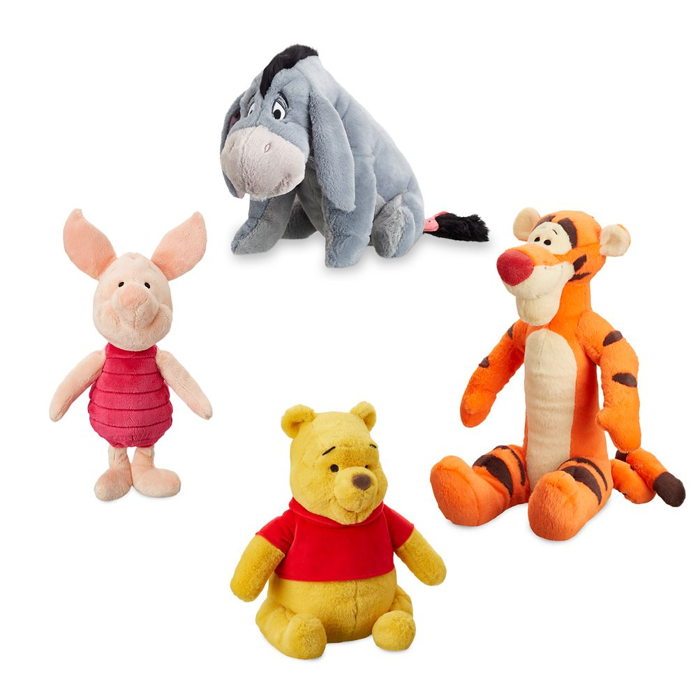 Winnie the Pooh and Pals Plush Bundle