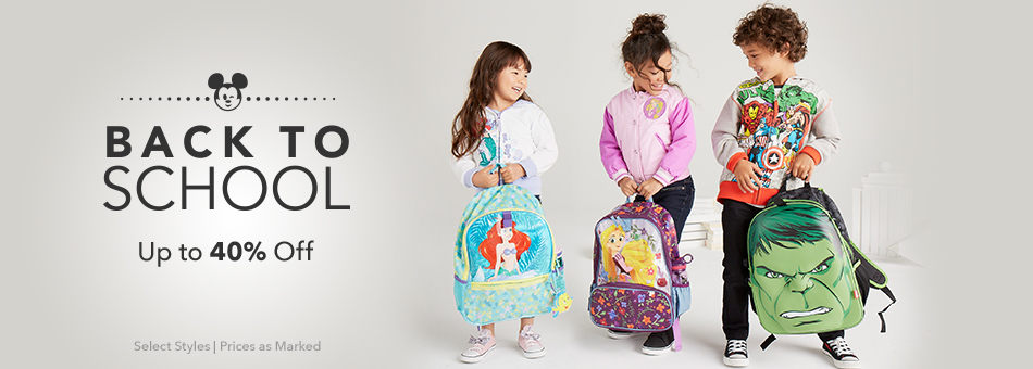 Back to School - Up to 40% Off