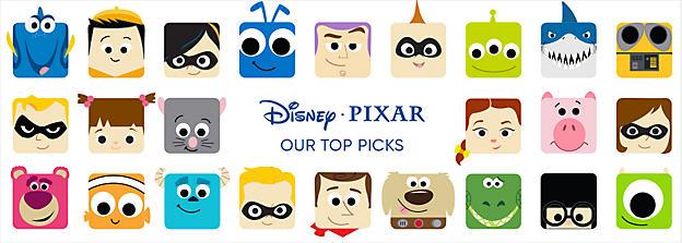 Our Top Picks from Disney PIXAR