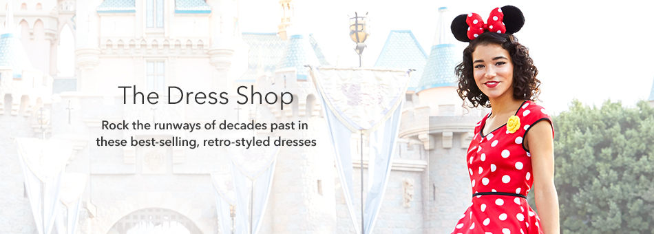 The Dress Shop - Rock the runways of decades past in these best-selling, retro-styled dresses