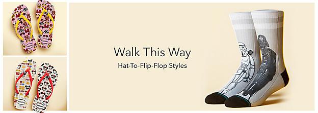 Hat-to-Flip-Flop Styles