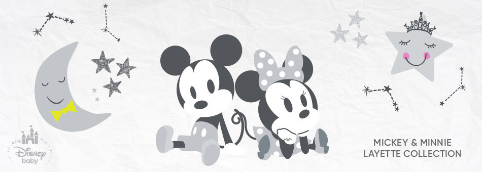 Disney Baby - Mickey & Minnie Layette Collection
