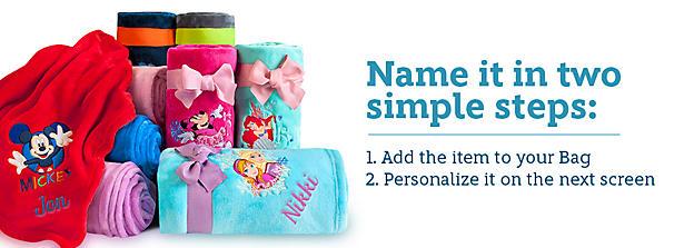 Personalization Shop - Name It