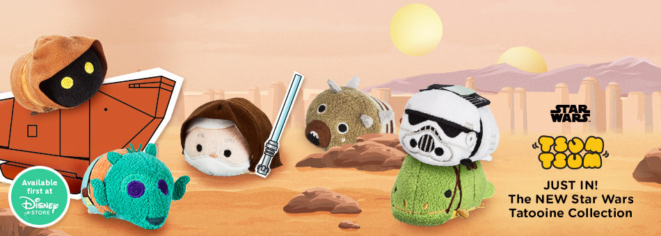 Star Wars Tsum Tsum - Just In! The New Star Wars Tatooine Collection - Available First at Disney Store