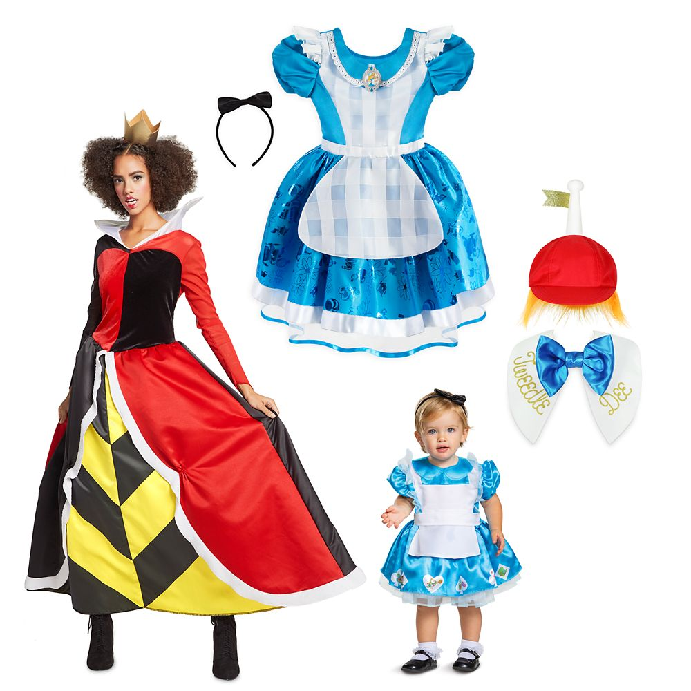 Alice in Wonderland Family Costume Collection