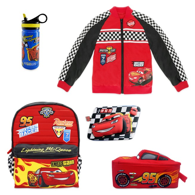 Lightning McQueen Back to School Collection – Cars