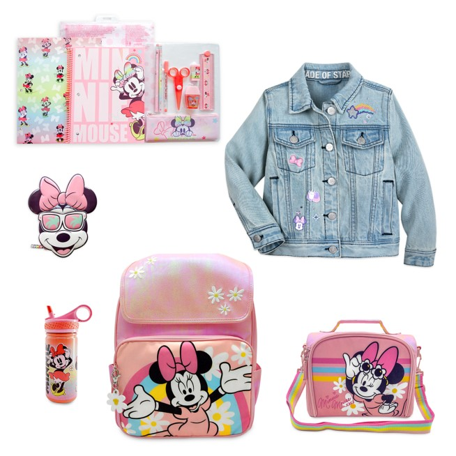 Minnie Mouse Back to School Collection