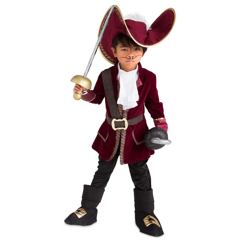 디즈니 할로윈 코스튬 '피터팬' 후크 선장 의상 Disney Captain Hook Costume Collection for Kids