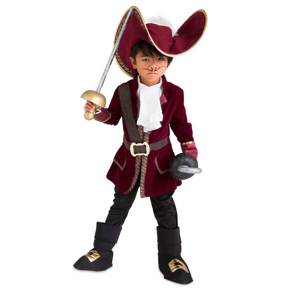 Captain Hook Costume Collection for Kids – Peter Pan
