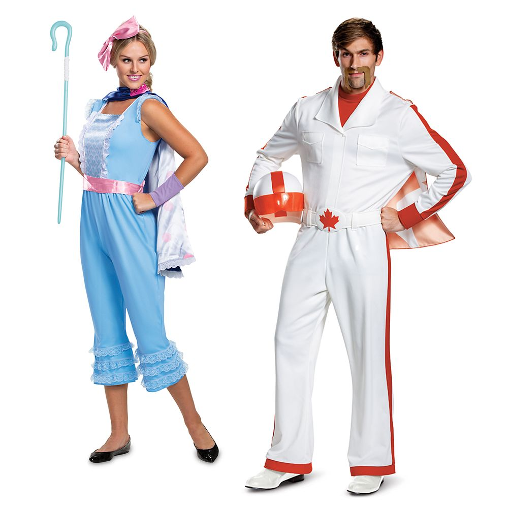 Duke Caboom and Bo Peep Costume Collection for Adults – Toy Story 4