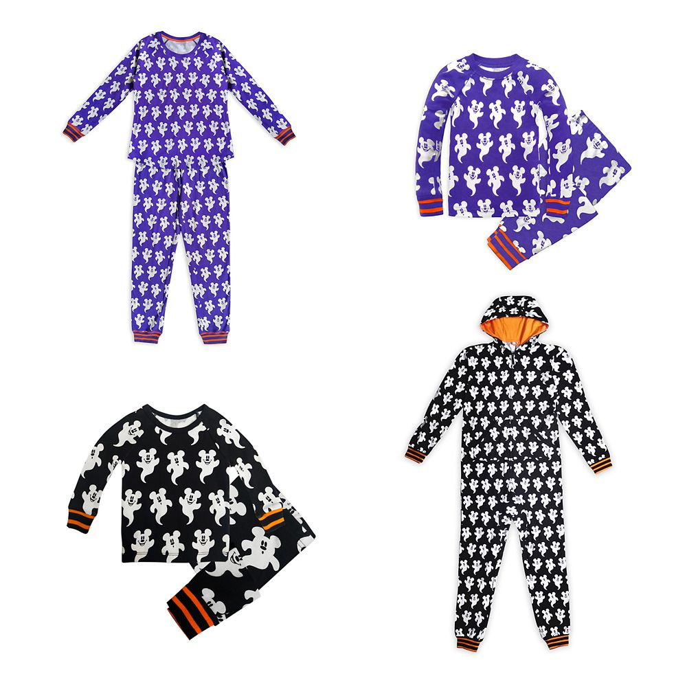 Mickey Mouse Halloween Family Sleepwear Collection