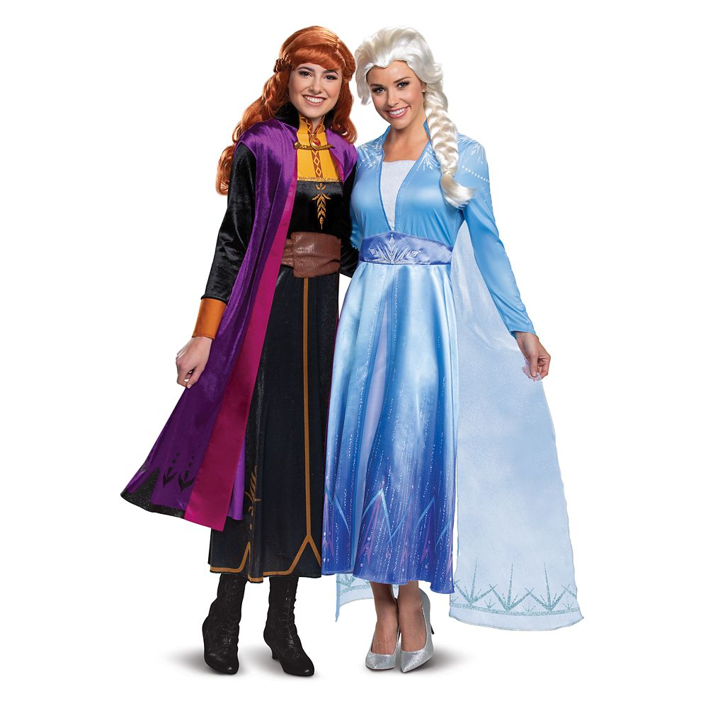 Frozen Deluxe Costume Collection for Adults