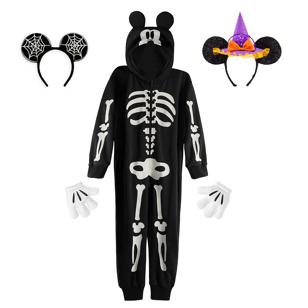 Mickey and Minnie Mouse Halloween Family Costume Collection