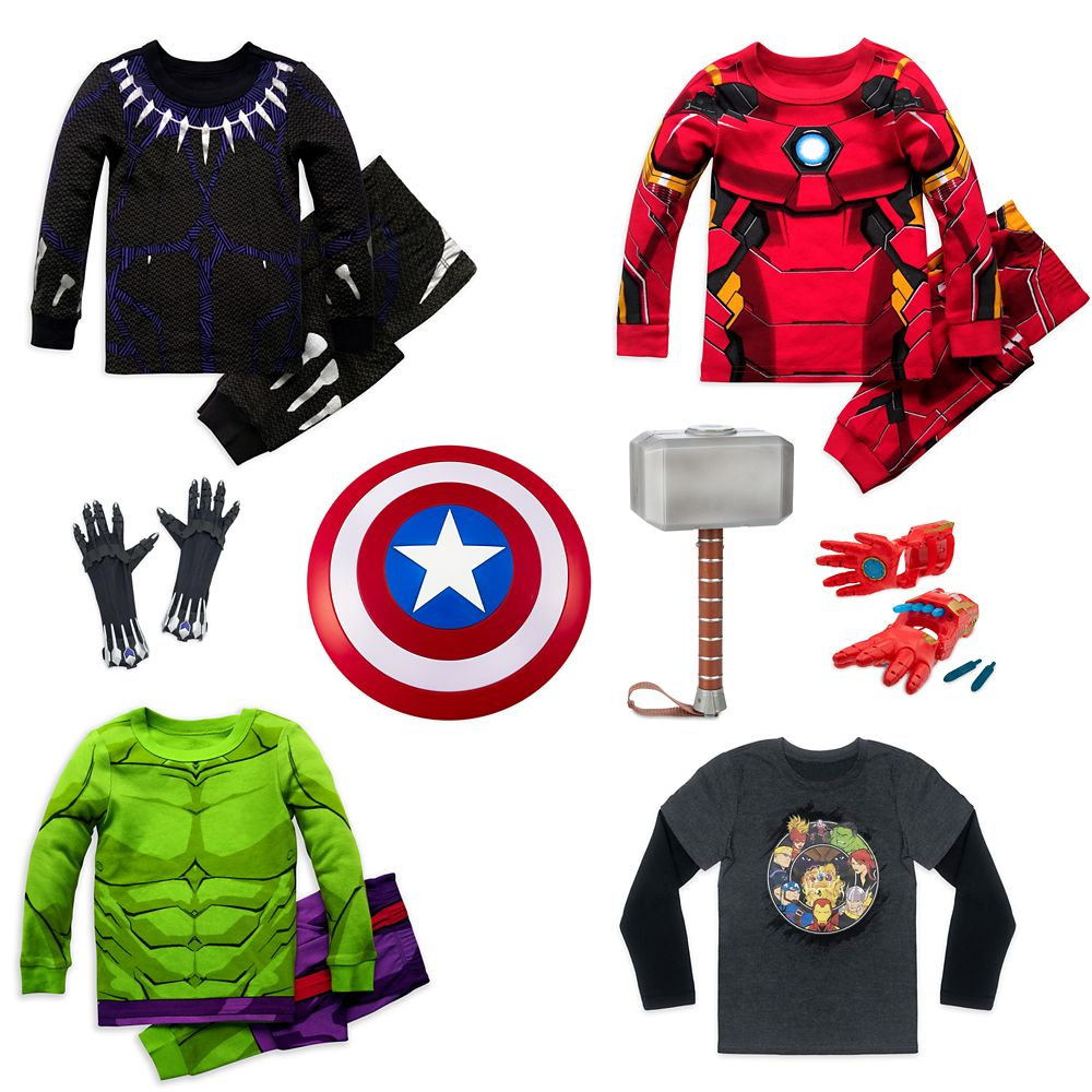 Avengers Holiday Collection for Kids