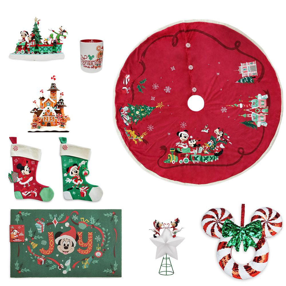 Mickey and Minnie Mouse Holiday Home Décor Collection