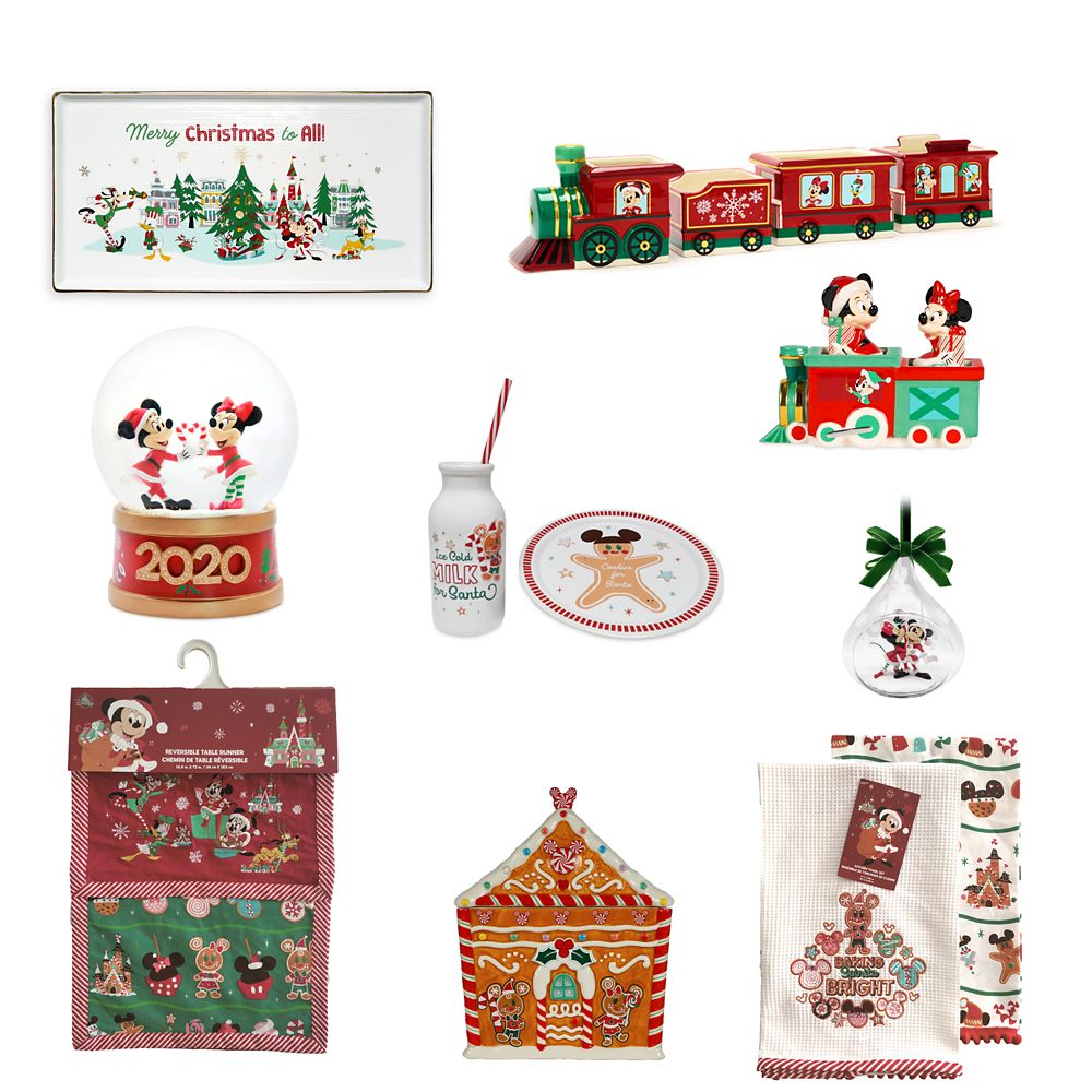 Mickey Mouse and Friends Holiday Home Collection