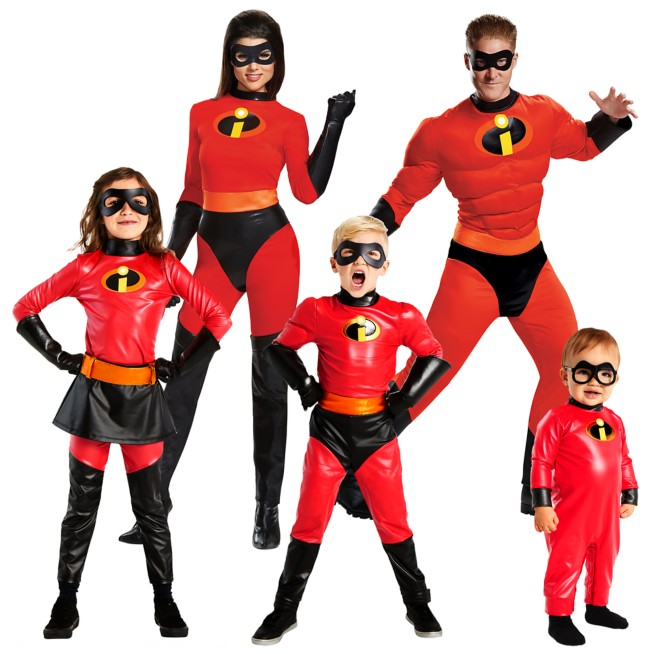 Incredibles 2 Costume Collection for Family