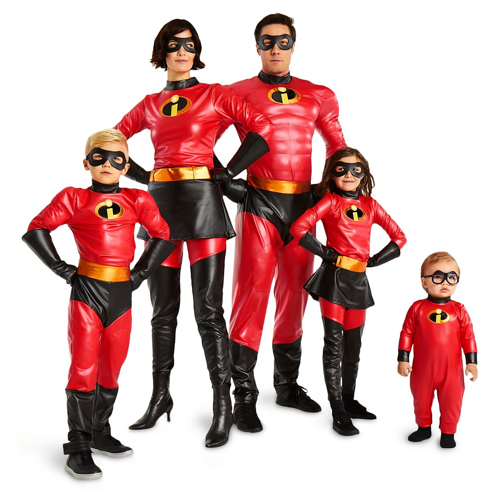 Incredibles Family Costume Collection