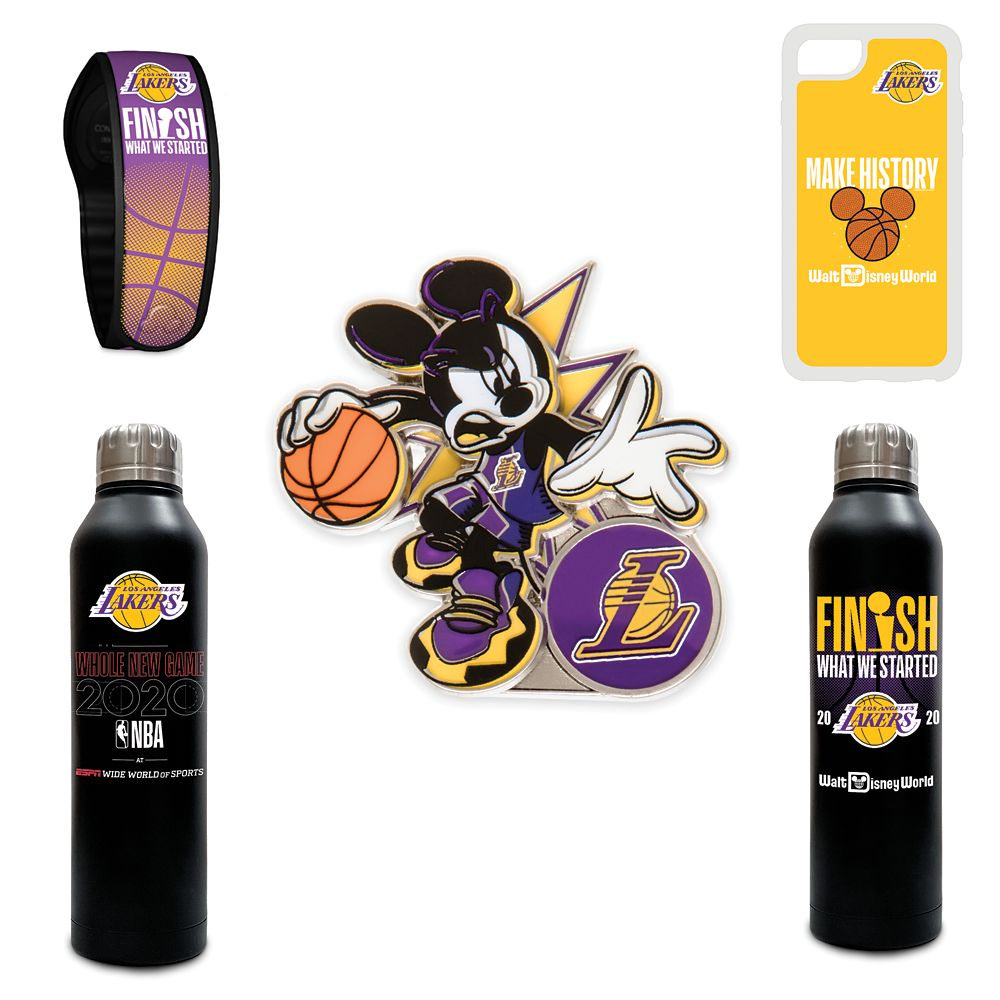 Los Angeles Lakers NBA Experience Collection