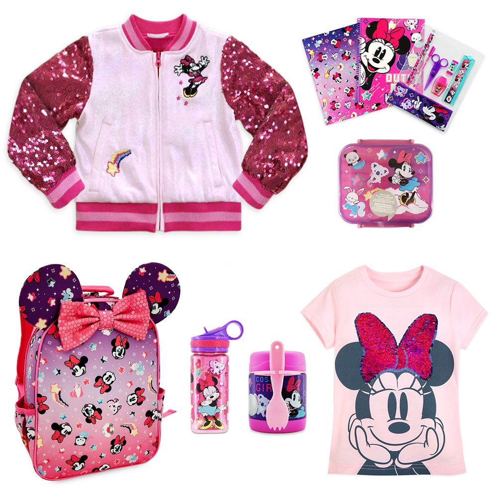 Minnie Mouse School Collection