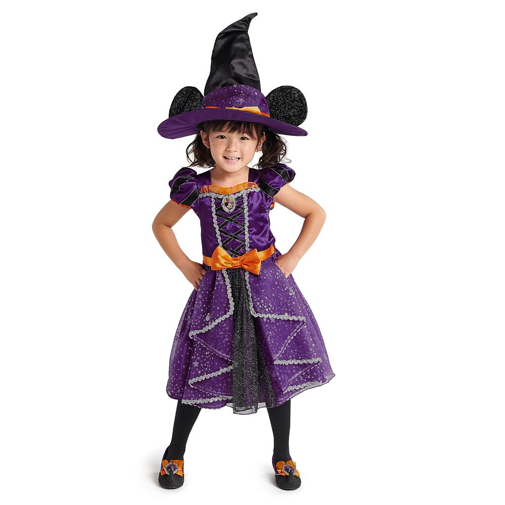 Minnie Mouse Halloween Witch Costume Collection