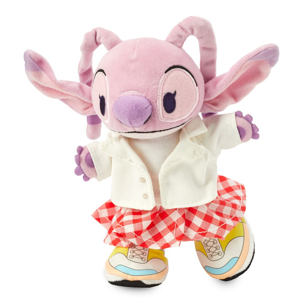 Angel Disney nuiMOs Plush and White Blazer Jacket with Gingham Skirt Set – Lilo & Stitch