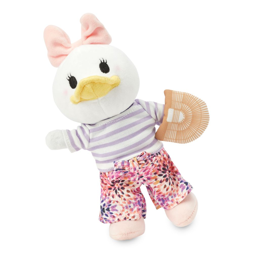 Daisy Duck Disney nuiMOs Plush and Striped Shirt with Floral Pants and Mini Bag Set
