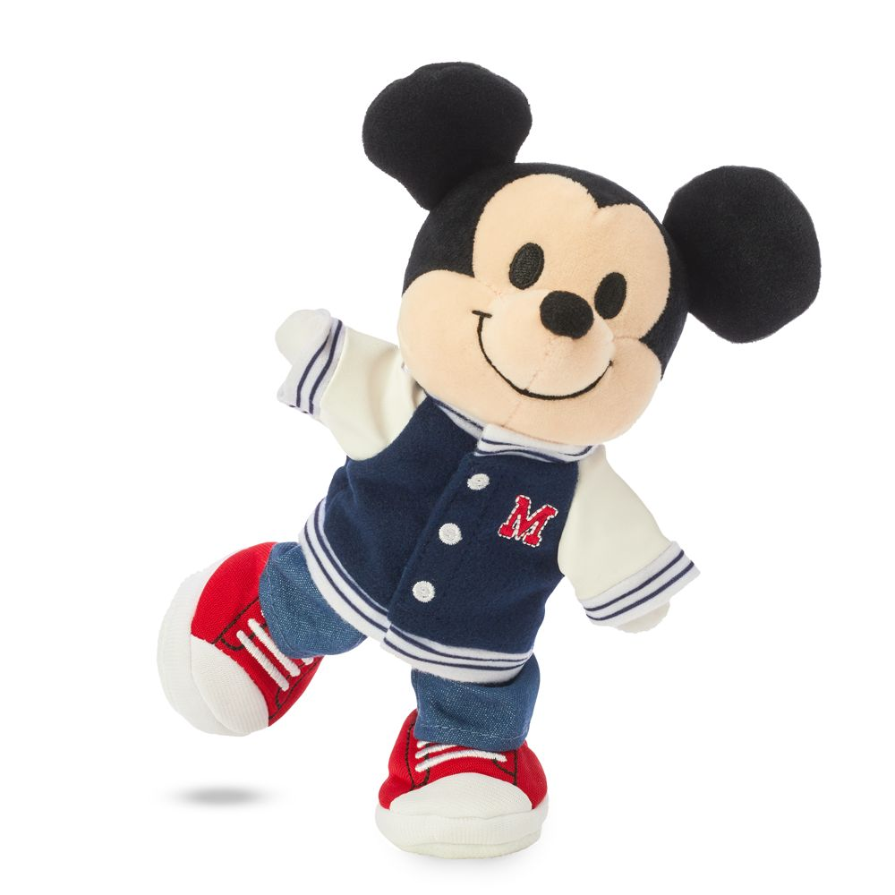 Mickey Mouse Disney nuiMOs Plush and Varsity Jacket Set