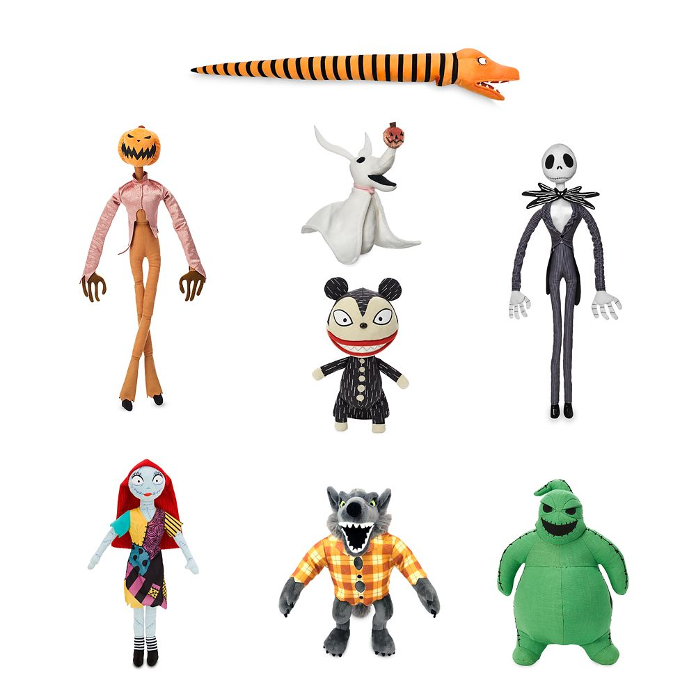 Tim Burton's The Nightmare Before Christmas Plush Collection