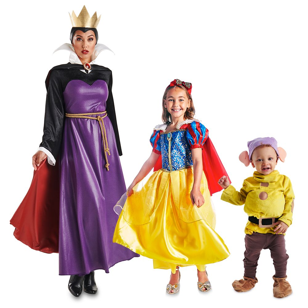 Snow White and the Seven Dwarfs Family Costume Collection