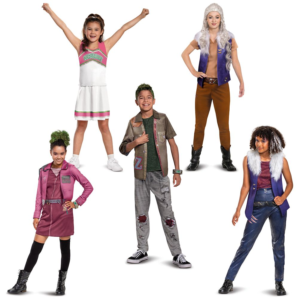 Zombies 2 Costume Collection for Kids