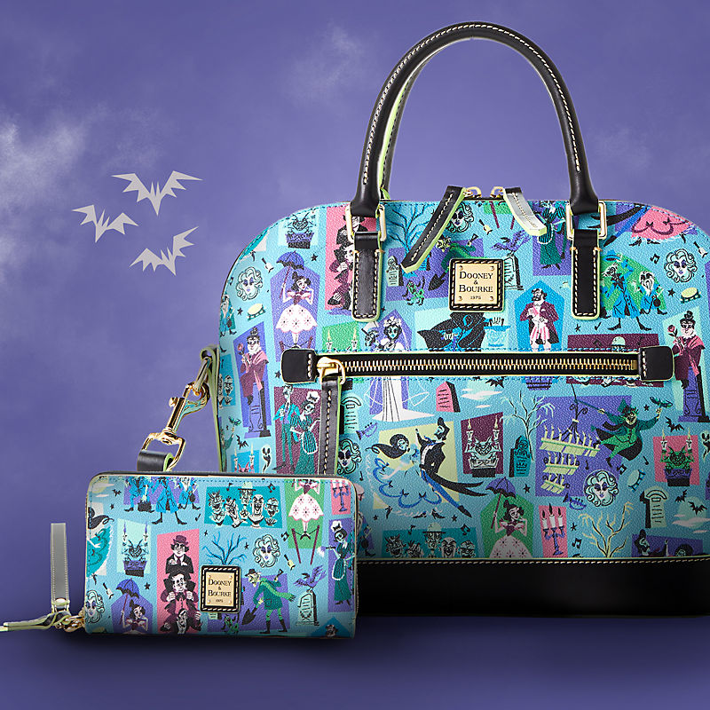 The Haunted Mansion Dooney & Bourke bag and wristlet