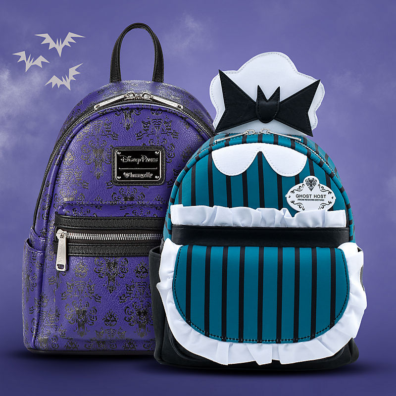 Haunted Mansion Themed Loungefly backpacks