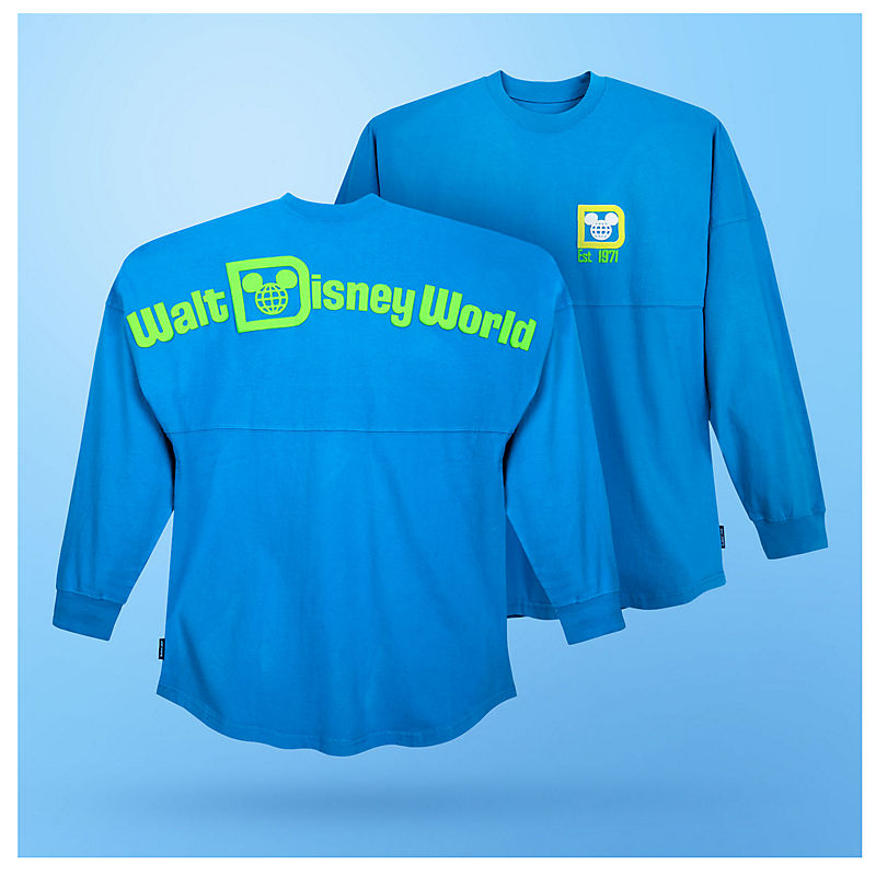 Neon Walt Disney World spirit jersey