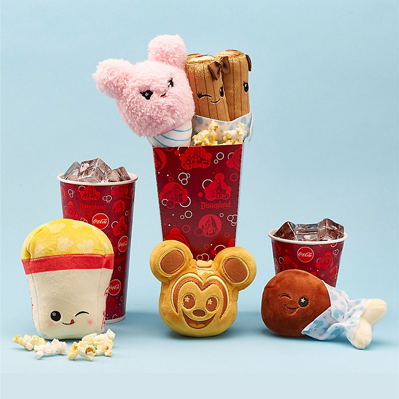 Disney Parks food Wishable plush