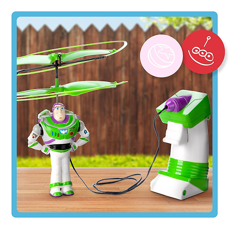 Buzz Lightyear Wind-Up Flying Toy