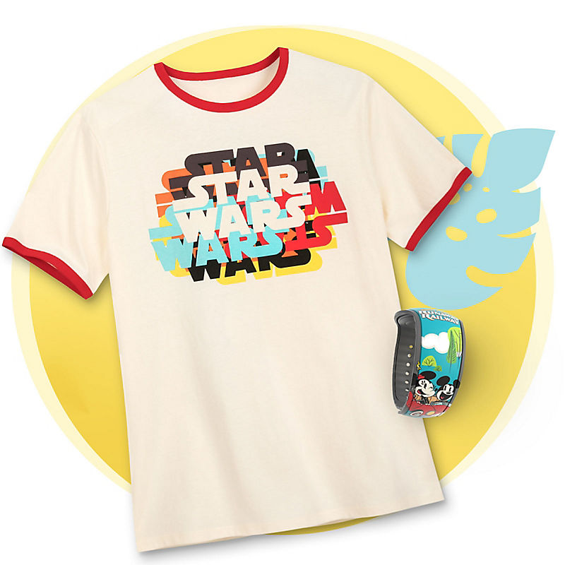 Star Wars tee with Mickey and Minnie MagicBand