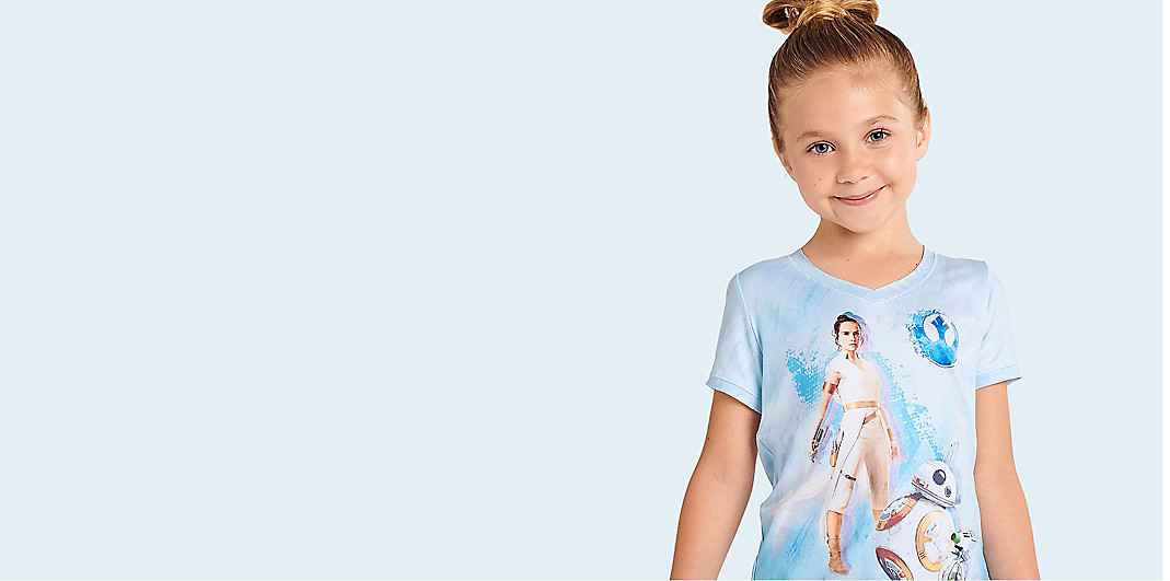 Girls' T-Shirts & Tops
