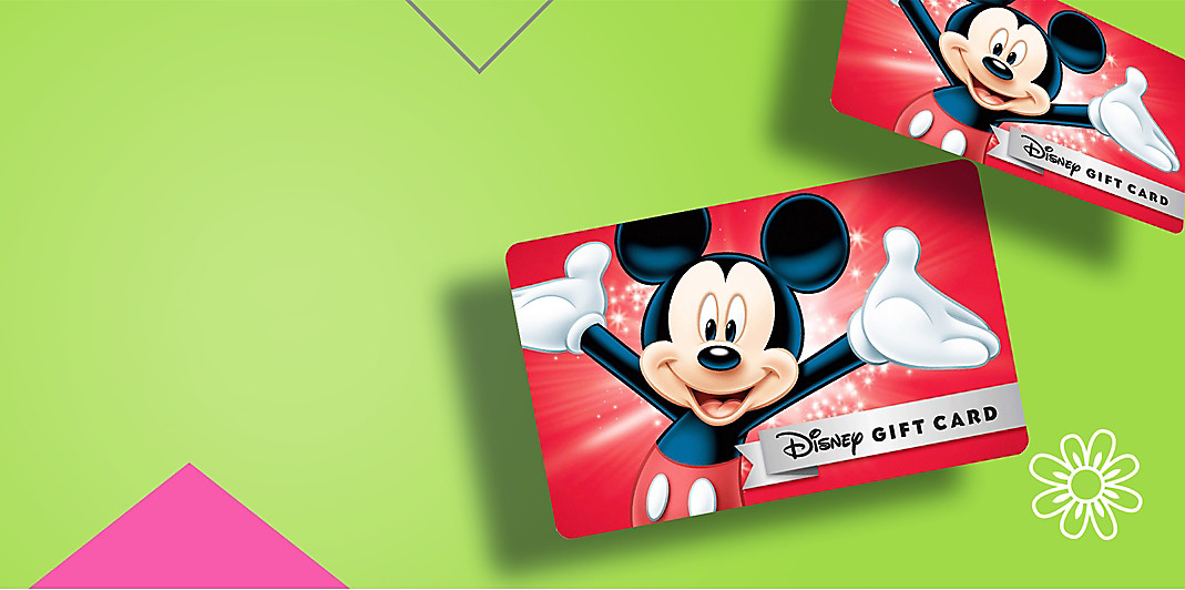Background image of Disney Gift Cards